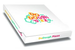 DO DOUGH - Pizza Box Customised - 26x26x4cm - 100pcs