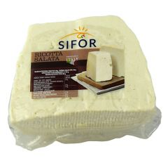 SIFOR - Salted Ricotta_ Ricotta Salata - Price per kg - (Approx 0.45kg)