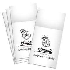 NAPOLI ON THE ROAD - Napkins Tablin White 8Fold