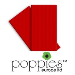 POPPIES - Napkins Tablin Red - 8fold - 40x40cm - 500