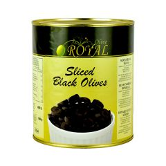 Black Olives Sliced - 3kg - ACORSA