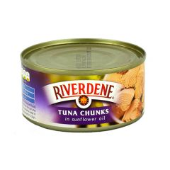 RIVERDENE - Tuna Chunks in Oil - 185g