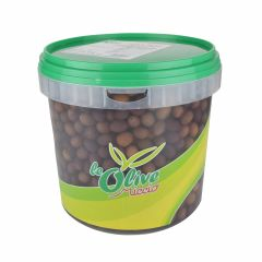 "OLIVES EXTRA GAETA 3.5kg ""Black Olives in Brine - PRESTIGE"