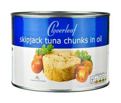 CLOVERLEAF - Tuna Chunks in Oil - 1700g