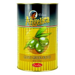 ANGELICA - Stone - Whole Giant Green Olives - 4.1kg