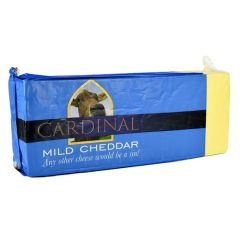 CARDINAL - Mild Cheddar Cheese Block - Price per Kg - Approx. 5kg