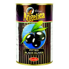 ANGELICA - Pitted - Small Black Olives - 4.1kg
