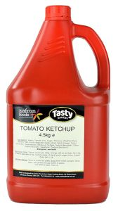 TASTY SAUCE - Large Tomato Ketchup - 4.5L