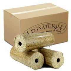 LEGNATURALE - Natural Wood Briquettes - 10kg Box