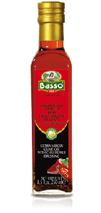BASSO - Chilli Extra Virgin Olive oil_ EVO al Peperoncino - 250ml