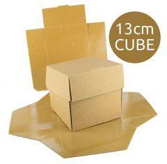 FOOD BOX - Flower Cube - 11.8x12x10.6cm - 200pcs