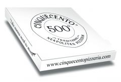 PIZZA 500 - Pizza Box Customised - 32x32x4 - 100pcs