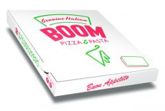 BOOM - Pizza Box Customised - 32x32x4 - 100pcs
