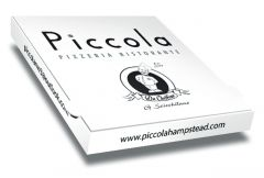 PICCOLA - Pizza Box Customised - 32x32x4 - 100pcs