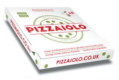 PIZZAIOLO - Pizza Box Customised - 32x32x4 - 100pcs
