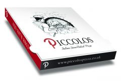 PICCOLOS - Pizza Box customised - 32x32x4 - 100pcs
