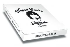NAPOLI CENTRO - Pizza Boxes Customised - 32x32x4 - 100pz