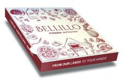 BELLILLO ALLUMINIUM - Pizza Box Customised - 33x33x3.5 - 50pcs