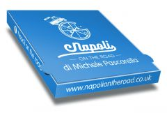 NAPOLI ON THE ROAD ALLUMINIUM - Pizza Box Customised - 32x32x4 - 100pcs