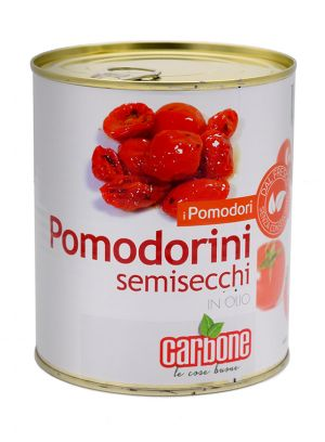 CARBONE - Cherry Tomatoes Semi dry in oil - 750gr