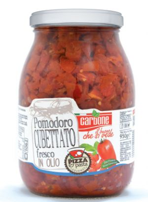 CARBONE - Cubbed Red Tomato in Sunflower Oil - 1062ml