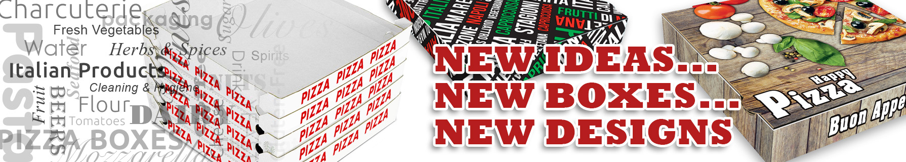 New Pizza Boxes