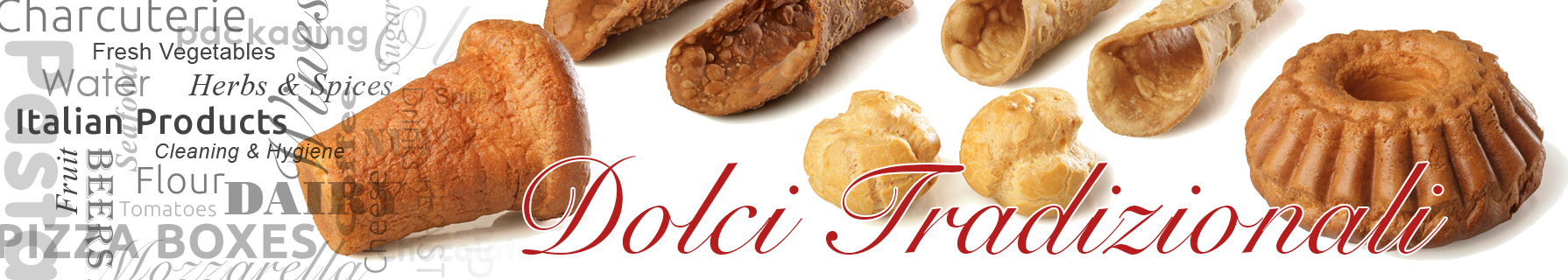 Italian sweets and cakes