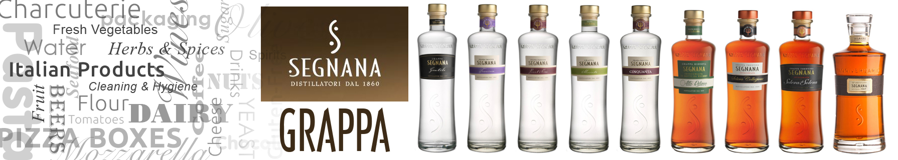 Shop for Segnana Grappa Range