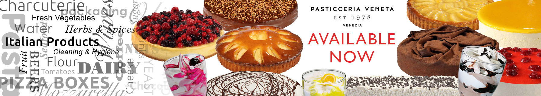 Pastries, cakes and desserts